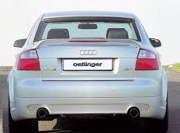 audi brake light oettinger trunk lid spoiler with brake light for audi a4 s4 b6