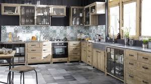 meuble cuisine bois brut esprit atelier dans la cuisine meuble bois brut credence