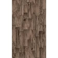 Faux Wood Wallpaper by Washington Wallcoverings Multi Colored Faux Tile Vinyl Wallpaper