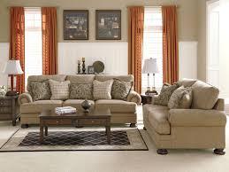 Oversized Living Room Furniture Joyce Traditional Oversized Chenille Sofa Set Living