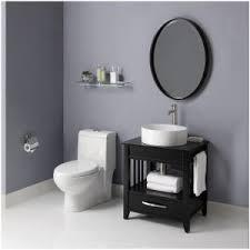 Black Bathroom Vanities With Tops Bathroom White Round Sink Bathroom Black Wooden Vanity With