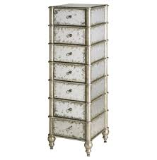 Mirror Chest Of Drawers Furniture 6 Drawer Mirrored Chest Of Drawers Plus White Curtains