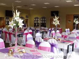 party balloons 4 you wedding venue decorations done at goals