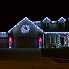 Antique Christmas Lights Christmas Lights Ranch Style House House And Home Design