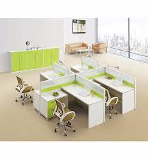 bureau poste espace ouvert mobilier de bureau croix type de partition de table