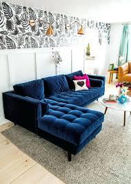 blue velvet sectional sofa blue velvet sectional sofa nice medium size of tufted espan us