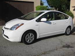 toyota white car for sale 2007 white toyota prius package 6 fully loaded