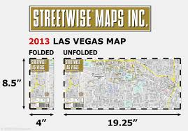 Las Vegas Strip Casino Map by Streetwise Las Vegas Map Laminated City Center Street Map Of Las