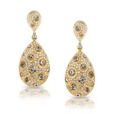 gold teardrop earrings king jewelers diamond yellow gold teardrop earrings king jewelers
