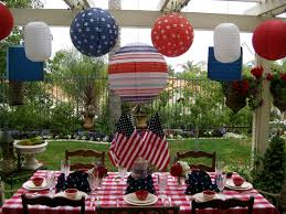 berry decorating back yard ideas tagged as july 4th table decor