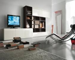 lounge chair living room living room airy simple living room with modular storage units