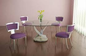 Modern Round Dining Table Shelby Knox - Modern round dining room table