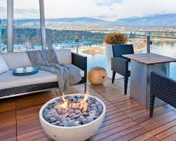 fire pit with seating deck firepit houzz