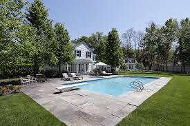 Deep Backyard Pool by Swimming Pool Designs In Ground Pool Ideas
