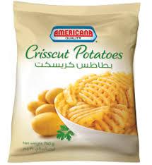 cuisine 750g crisscut potatoes 750g americana foods