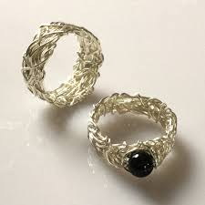 black stones rings images Black stone ring for couple anextweb jpg