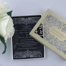 acrylic wedding invitations 50 personalized cut acrylic wedding invitation cards names