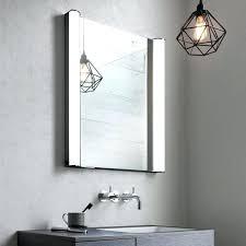 Illuminated Mirror Bathroom Cabinets Recessed Vanity Mirror Cabinet Upandstunning Club