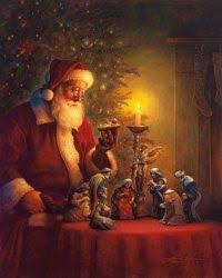 santa and baby jesus picture merry christmas from the healing letters project forgiveness