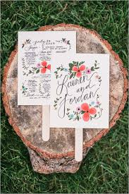 Paper Fan Wedding Programs Pinterest Inspired Vintage Wedding Program Fans Wedding
