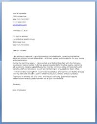 25 medical cover letter examples medical office assistant cover