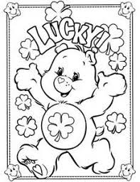 image result care bear outline desenhos care