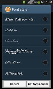 font apk stylish fonts apk from moboplay