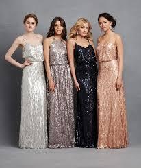 sequin bridesmaid dresses sparkly bridesmaids dresses vosoi
