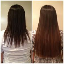 Wedding Hair Extensions Before And After by Laced Hair Extensions