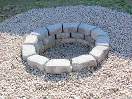 Firepit Stones Weekend Project Pit Back Porch Gourmet