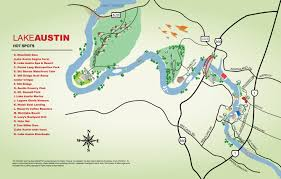 Map Of Austin Lake Austin Spot Map Looks Like There Is Lots To Do All