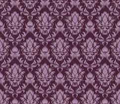 purple seamless vintage wallpaper pattern vector clipart image