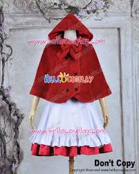 Red Riding Hood Costume Vocaloid 2 Cosplay Gumi Little Red Riding Hood Costume