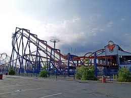 Six Flags Scary Rides Six Flags Great Adventure By Dracoart Stock On Deviantart