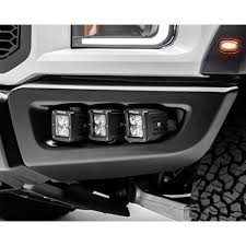 led fog light kit zroadz z325652 kit f 150 raptor led fog light mount kit with six 3