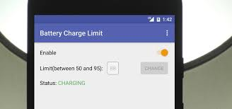android battery set a charging limit on your android device to avoid excess
