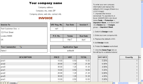 vat service invoice form free download and software reviews