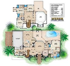 Mediterranean Floor Plan 1281 Best Floor Plans Images On Pinterest Architecture House