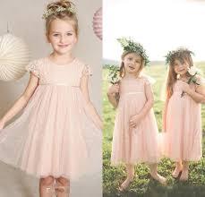 Flower Girls Dress Shoes - vintage 2016 pink junior flower girls dresses for weddings