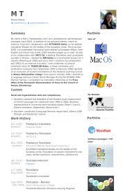 Interpreter Resume Samples by Freelance Translator Resume Samples Without Being Read Is Tobe