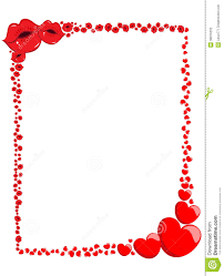 kiss clipart border pencil and in color kiss clipart border