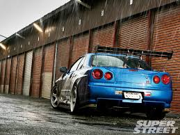 nissan r34 paul walker nissan skyline gtr wallpapers group 87