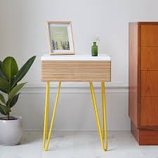 Bed Side Desk Bedsides U0026 Side Tables U2014 Handmade Mid Century Inspired Furniture