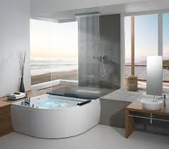 Cool Modern Bathrooms If You A Corner In House With Big Windows You Can Make A