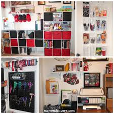 tips for organizing your home office craft room makeover reveal