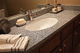 bathroom countertops options home design tips and guides