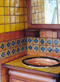 Mexican Tile Bathroom Ideas Colors Our Mexican Bathroom On Steroids Dream House Pinterest