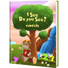 see do you see numbers personalized children s book