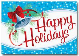 retro holiday postcard pc609 harrison greetings business