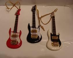 guitar ornaments etsy